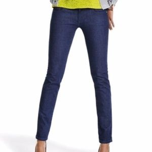 CAbi #3041 Knight Curvy Skinny Jeans SZ 4 Dark